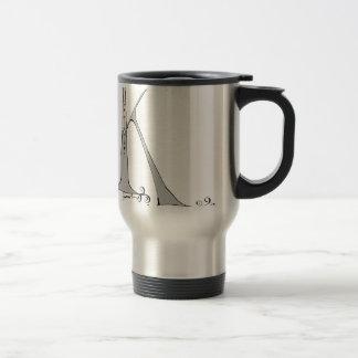 Magical Letter K from tony fernandes design Travel Mug