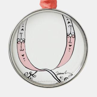Magical Letter Q from tony fernandes design Metal Ornament