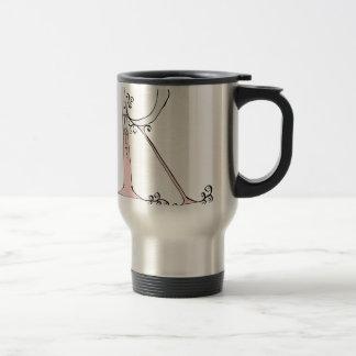 Magical Letter R from tony fernandes design Travel Mug