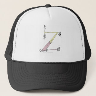 Magical Letter Z from tony fernandes design Trucker Hat