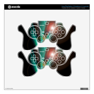 Magical Light and Energy - Licht und Energie 6 Decal For PS3 Controller
