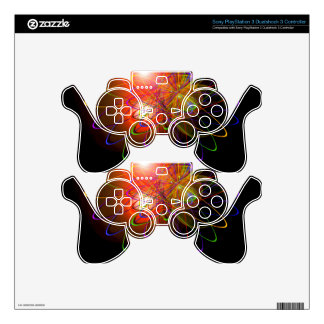 Magical Light and Energy - Licht und Energie 7 Decal For PS3 Controller