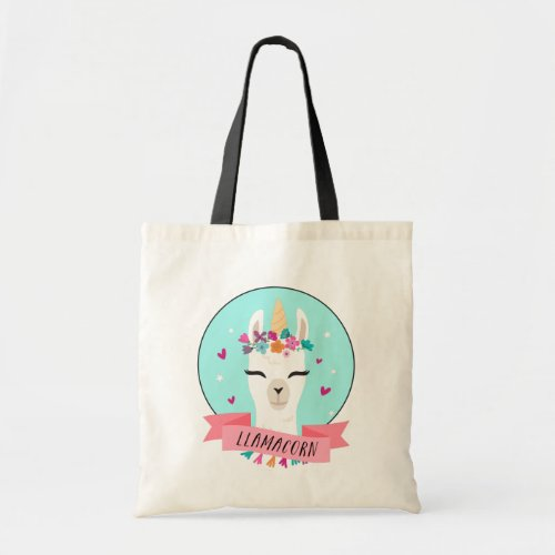 Magical Llamacorn Tote Bag
