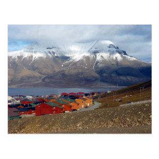 Magical Longyearbyen, Svalbard Postcard