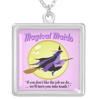 Magical Maids Witch Necklace