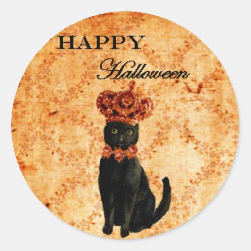 Magical Masquerade Happy Halloween Sticker Seal