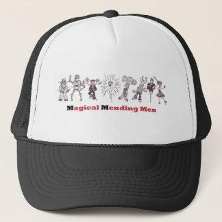 magical mending men trucker hat