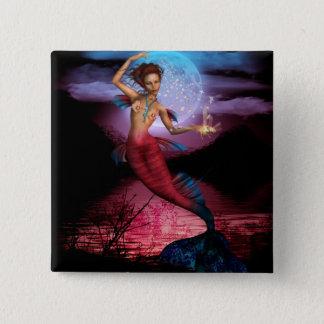 Magical Mermaid Moon Button