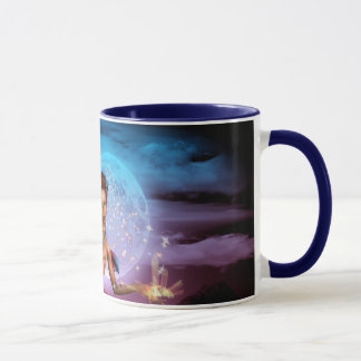 Magical Mermaid Moon Coffee Mug