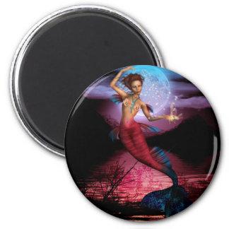 Magical Mermaid Moon Magnet