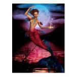 Magical Mermaid Moon Postcard