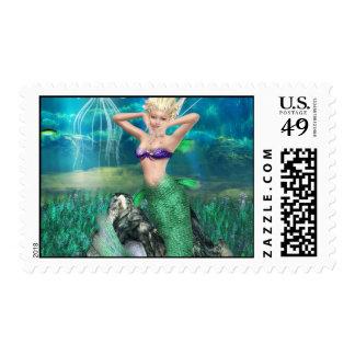 Magical Mermaid Stamp