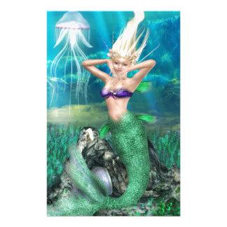 Magical Mermaid Stationery