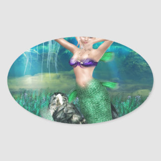 Magical Mermaid Sticker
