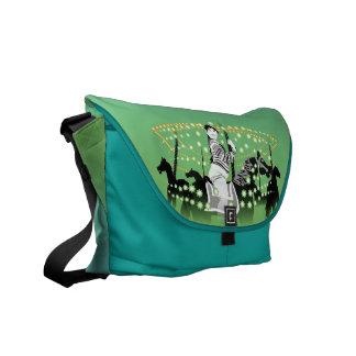 Magical Merry-Go-Round Rickshaw Messenger Bag