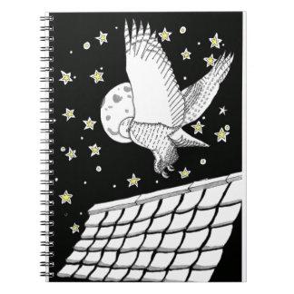 Magical Messenger Owl Notebook