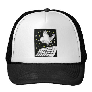 Magical Messenger Owl Trucker Hat