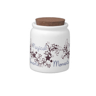 MAGICAL MOMENTS  CANDY JAR