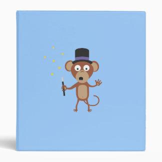 magical monkey 3 ring binder