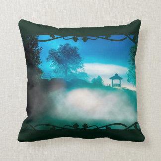 Magical  Morning - North Georgia Landscape Throw Pillow