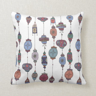 Magical Moroccan Lanterns Cushion