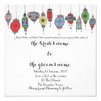 Magical Moroccan Lanterns Wedding Invitation (<em>$1.95</em>)