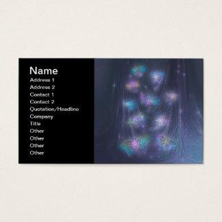 Magical Moths Abstract Fantasy Art Business Card