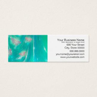 Magical Moths Fantasy Art Mini Business Card
