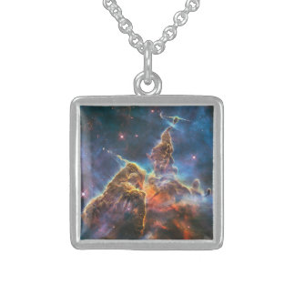 Magical Mountain Sterling Silver Necklace