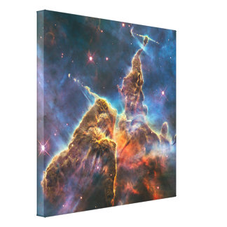 Magical Mountain Stretched Canvas Prints
