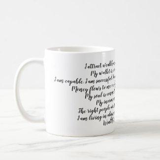 Magical Mug: Abundance Affirmation Coffee Mug