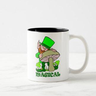 Magical mushroom St Patricks Day Gift Coffee Mugs