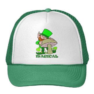 Magical mushroom St Patricks Day Gift Trucker Hat