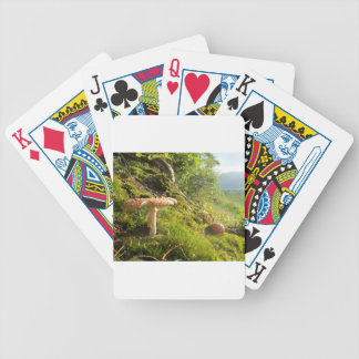 Magical Mushrooms 1 Bicycle Playing Cards