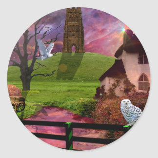 Magical mystery tor round sticker