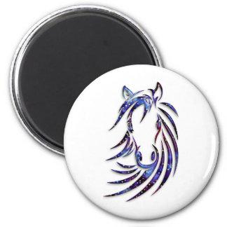 Magical Mystical Horse Portrait Magnet