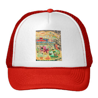 Magical Nautical Carousel Trucker Hat