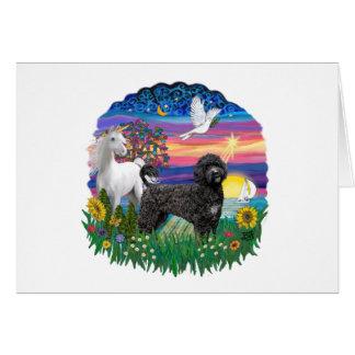 Magical Night - Black Portie 2C Card