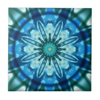 Magical Ocean Fractal Art Tile