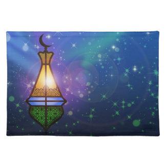 Magical Oriental Lantern - Cloth Placemat