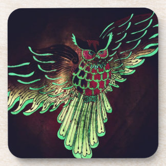 Magical Owl Drink Coaster