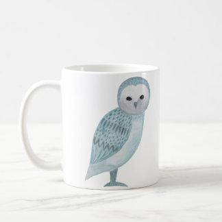 Magical Owl Mug Wizard Owl Blue Owl Graphic Mug