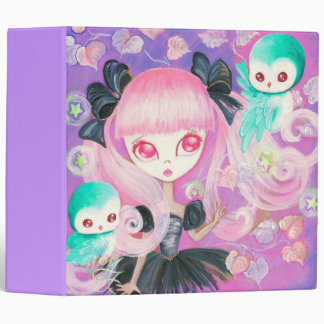 Magical Owls 3 Ring Binder