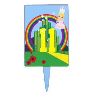 magical Oz BIRTHDAY PARTY cake topper