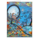 Magical Partridge In A Pear Tree Christmas Card