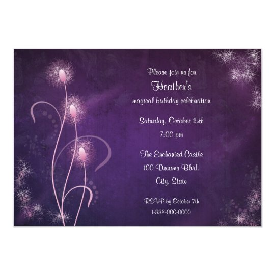 Magical Party Invitation