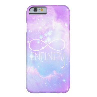 Magical pastel galaxy infinity loop background barely there iPhone 6 case