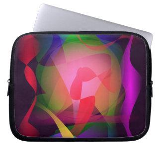 Magical Pattern Black Laptop Computer Sleeves
