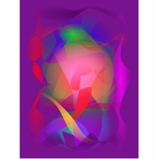 Magical Pattern Purple Photo Sculpture