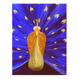 Magical Peacock Postcard